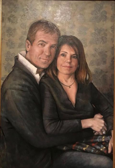 Daniele e Antonella Rebuffoni