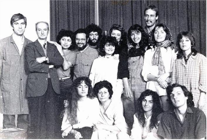Accademia San Marco Belle Arti Firenze, professor Goffredo Trovarelli e assistente Carmelo Puzzolo