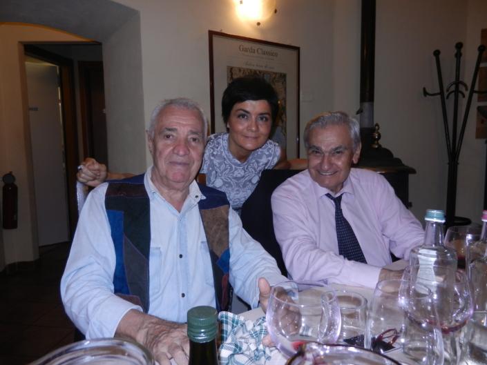 Alberto Angela e RobertoArmenia