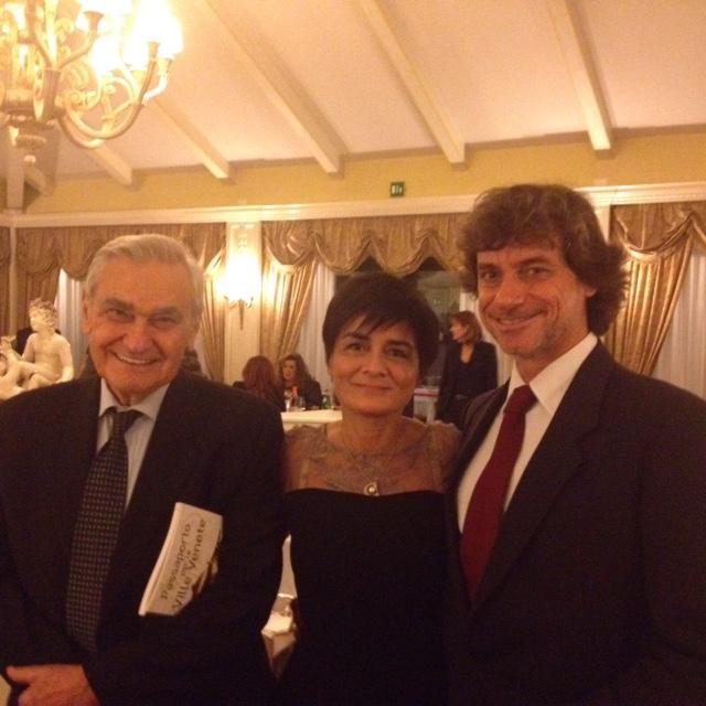 Alberto Angela e Roberto Armenia